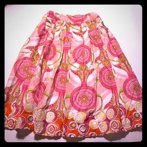Pleated Skirt, fully lined, Girls size 7